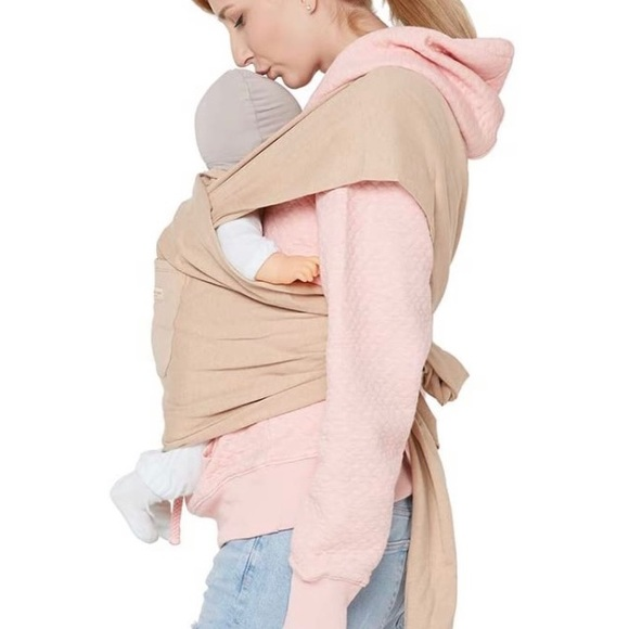BLARA ORGANIC HOUSE Baby wrap camel up to 36 Kg